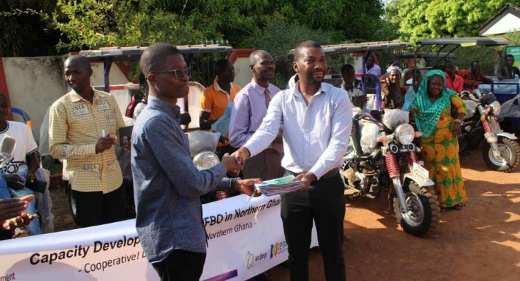 KOICA provides equipment for Farmers in Northern Ghana