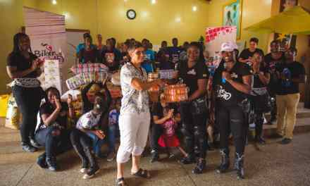 Biker Girls GH hold charity ride to Kinder Paradise