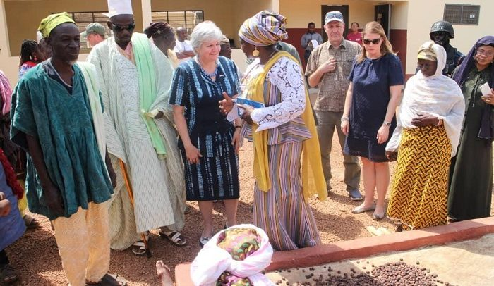 US Govt builds shea butter facility for women at Sorogu