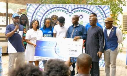Awake Water gives Korle-Bu Cardio Centre GHC75K