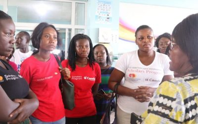 Camfed Alumni assists Korle-Bu child cancer unit
