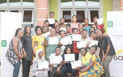 GCB Bank funds Women's DNA Foundation business training