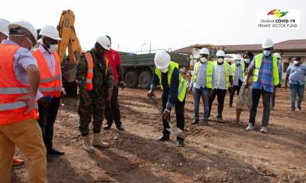 Bankers give COVID-19 Private Sector Fund GHS2M