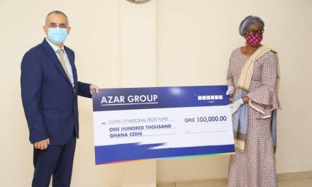 COVID-19 Trust Fund gets support from Azar Group