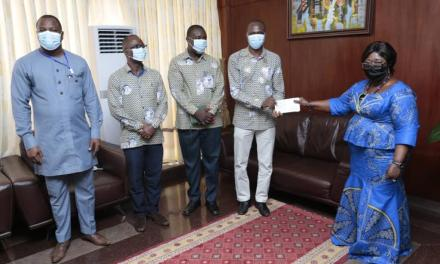 GhIS contributes to fighting Covid-19 in Ghana