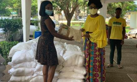 Yedent Agro donates fortified food to MoGCSP