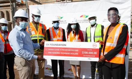 CH Group gives $100k to Infectious Diseases Project