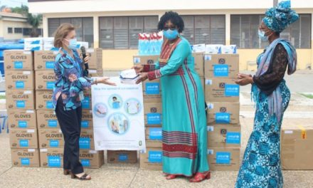 UNICEF gives PPE, supplies to Social Welfare Dept