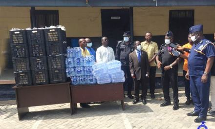 Valley View University assists Gtr. Accra Police