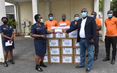 StarTimes gives Ghana Police 10,000 face masks