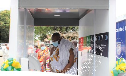 Gold Fields gives Ga Mantse Disinfection Chambers