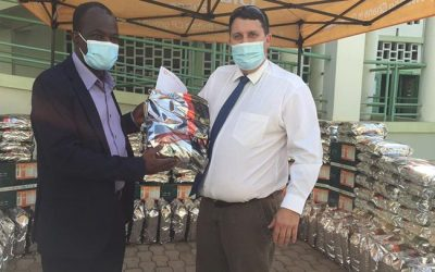 Dizengoff Ghana Donates in support of 36th National Farmers Day celebration