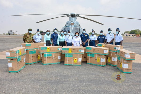 Hisense Ghana donates air conditioners to Air force Base Training School Accra