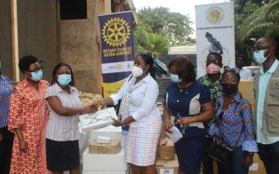 GWAG-USA donates $78,000 worth of equipment to seven health institutions
