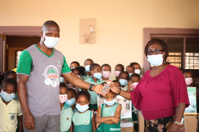 Sinapi Aba invests GHS600k in WASH projects to help fight COVID-19 in 150 schools