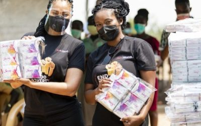 Sincerely Ghana and Menaye Donkor's 'Sister-2-Sister' Initiative reach out to young women in Keta