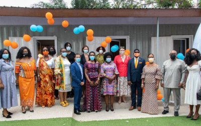 UNFPA and partners commission domestic violence 'Orange Support Centre' in Accra