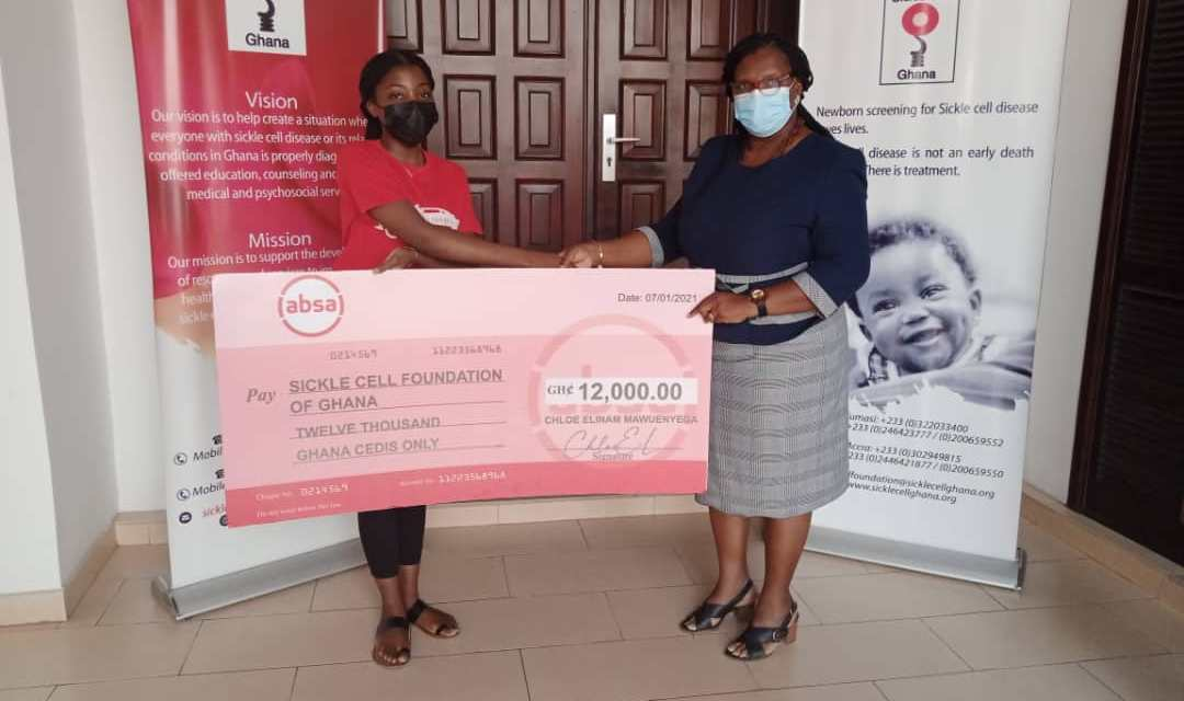 Chloe E. Mawuenyega washes cars to raise GHS12,000 for Sickle Cell Foundation of Ghana