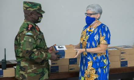 US Govt supports Ghana Armed Forces Pre-Deployment training Capacity at Bundase camp
