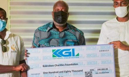 KGL Foundation donates GHS180,000 to support 'Project 100 Incubators' of Kokrokoo Charities