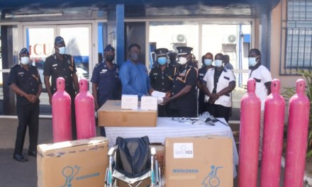 QNET donates medical oxygen, regulators, wheelchairs to KATH and Ghana Police Hospital