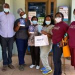 Allianz Life employees help pay medical bills for child patients at Tema General Hospital, other