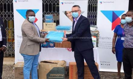 TechnipFMC donates GHS50,000 worth of PPE to Effia-Nkwanta Hospital to support COVID-19 fight