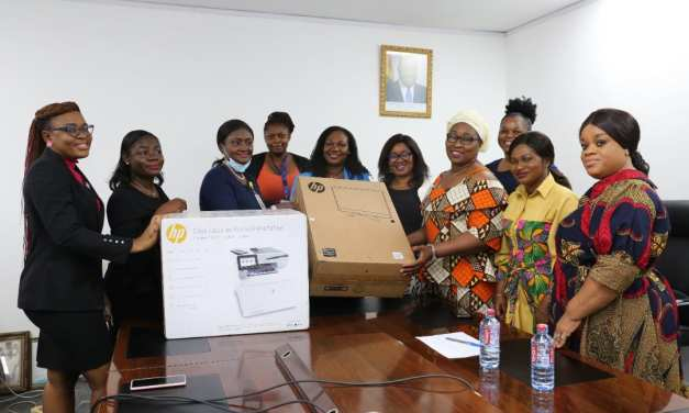 GPHA donates office equipment to Women In Maritime of West and Central Africa