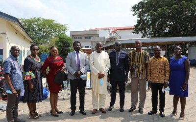 REACT Humanitarian Network donates medical equipment worth GHS170,000 to UEW Hospital