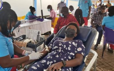 Ghana Food and Drugs Authority holds blood donation drive to restock National Blood Bank