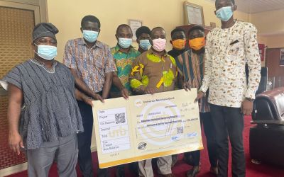 Koforidua Technical University SRC Donates GHS150,000 for New Campus Hospital project
