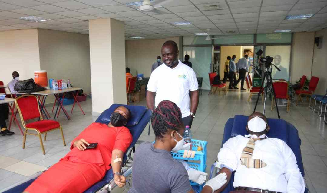SIC Life Ghana holds blood donation drive to support national blood bank