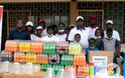 Goldstar Air donates food, clothing, PPE and essentials to Osu Children's Home