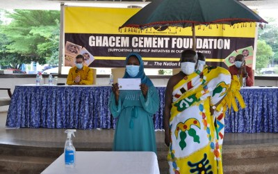 GHACEM Foundation invest GH¢27M to support health and education in Ghana