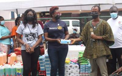 Rotaract Club of Accra-East, partners hold mental health, prostate cancer outreach for PWDs