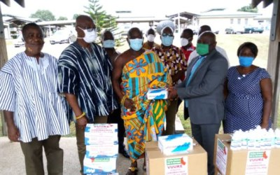 Volta Union UK/Europe donates PPE to Ho Teaching hospital to support COVID-19 fight