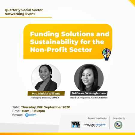 Funding Solutions and Sustainability for the Non-Profit Sector