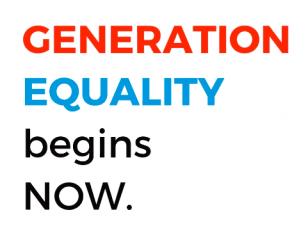 #generationequality