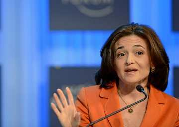 Sheryl Sandberg Philanthropy Women
