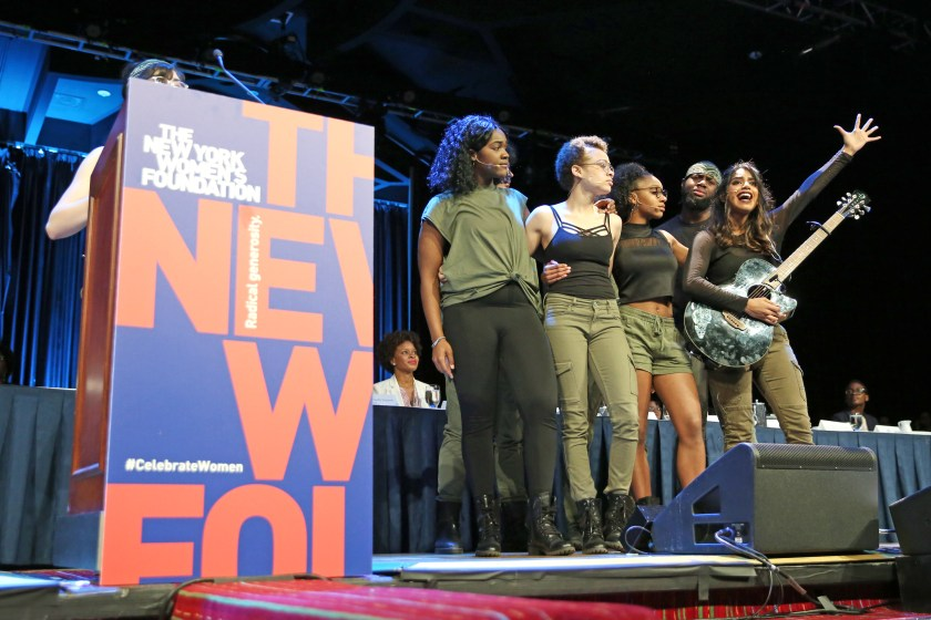 NEW YORK, NEW YORK - MAY 14: The group Developing Artists performs onstage during the 32nd Anniversary Celebrating Women Breakfast at Marriott Marquis on May 14, 2019 in New York City. (Photo by Monica Schipper/Getty Images for The