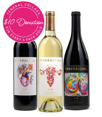 Teneral Cellars Launches Healthy Women, Healthy World Wine Collection Supporting the Endometriosis Foundation of America (Image credit: Teneral Cellars)