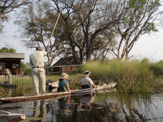 Botswana Okavango Delta Oddballs' Camp mokoro boat excellent safari itinerary choice