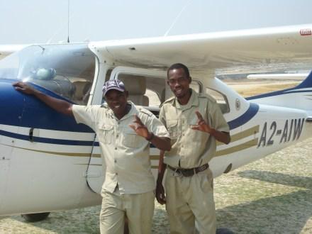 Botswana Bush Plane Oddballs Camp
