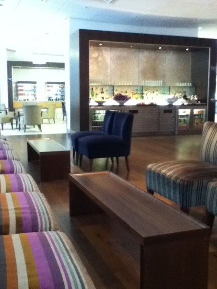British Airways lounge at T5 Heathrow