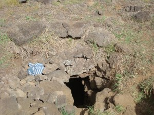 Entrance to Cave with Two Windows