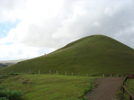 Easter Island hill
