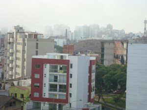The view of Miraflores