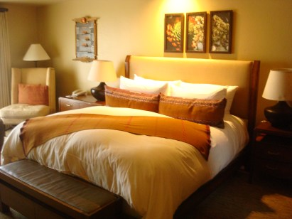 Miraval Spa Guest Room Bed