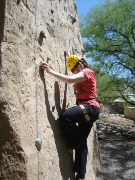 Starting my climb