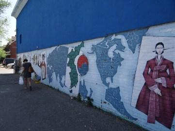 Mural in Korea Town